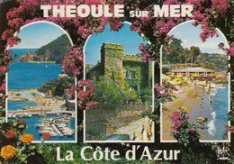 Cp , 06 , THÉOULE-sur-MER , Multi-Vues - France