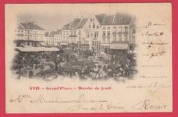 Ath - Grand'Place - Marché Du Jeudi ... Précurseur 1900 ( Voir Verso ) - Ath