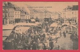 Ath - Grand'Place Durant Le Marché -190? ( Voir Verso ) - Ath