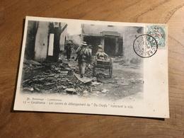 283/ CASABLANCA LES CANONS DE DEBARQUEMENT DU CHEYLA TRAVERSENT LA VILLE - Casablanca