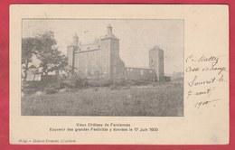 Farciennes - Vieux Château ... Souvenir Des Grandes Festivités Y Données Le 17 Juin 1900 ( Voir Verso ) - Farciennes