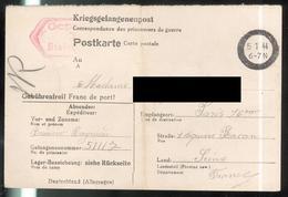 Courrier De Prisonnier Français En Allemagne - 1944 - Stalag V C - Documents