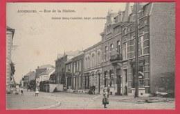 Anderlues - Rue De La Station  - 1912 ( Voir Verso ) - Anderlues
