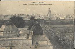 6-RABAT-QUARTIER BOUIBA ET MOSQUEE SIDI-SLIMANE(ALCUNE MACCHIE) - Rabat