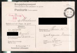 Courrier De Prisonnier Français En Allemagne - 31-1-1944 - Stalag V C - Dokumente
