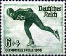 USED German-Empire - Winter Olympic Games - Garmisch-Partenki - 1935 - Germany