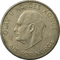 Monnaie, Norvège, Olav V, 5 Kroner, 1972, TB+, Copper-nickel, KM:412 - Norvège