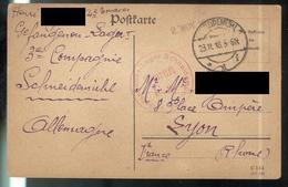 Courrier De Prisonnier Français En Allemagne - 23-11-1918 - Camp De Schneidemühl ( Allemagne ) - Documents