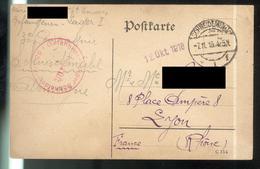 Courrier De Prisonnier Français En Allemagne - 07-11-1918 - Camp De Schneidemühl ( Allemagne ) - Documents
