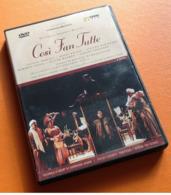 DVD Wolfgang Amadeus Mozart Cosi Fan Futte (2000) Arthaus Musik - Autres