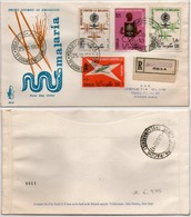 Fdc Venetia Som 1962 30s Lotta Malaria Raccomandata - Somalia (AFIS)