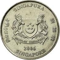Monnaie, Singapour, 20 Cents, 2006, Singapore Mint, TTB, Copper-nickel, KM:101 - Singapour