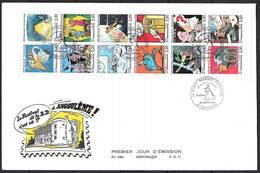 FRANCE BC2515 FDC Grand Format ( 24.5 X 16 ) Festival Bande Dessinée Angoulême 29/01/1988 Cote 30.00 € . - FDC