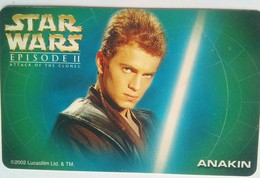 Globe Telecom  Star Wars Anakin 300 Pesos - Philippines