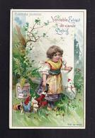 CHROMO PUBLICITE LIEBIG ILLUSTRATION Série Heureuse Jeunesse Véritable Extrait De Viande - Liebig