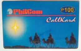 Philcom  Christmas  100 Pesos - Philippines