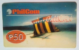Philcom 50 Pesos Beach - Philippines