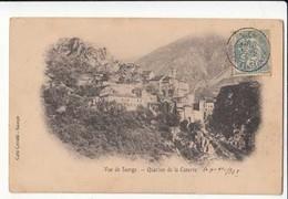 CPA 06 - Saorge - Quartier De La Caserne - Carte Précurseur 1905 : Achat Immédiat - France