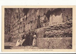 CPA Palestine -  Jérusalem - Mur Des Lamentations : Achat Immédiat - Palestine