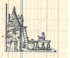 Facture 1/2 Format 1928 / 52 AUBEPIERRE / A. GAUTHIER / Entreprise Couverture Et Zinguerie, Réfection Toiture - France