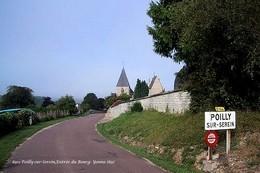 Poilly-sur-Serein (89)- Entrée Du Bourg (Edition à Tirage Limité) - Other Municipalities