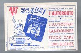 (jeu) Arcachon (33 Gironde) Buvard DUJARDIN  Jeux De Cartes  (PPP17615) - D