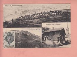 OLD POSTCARD - LIECHTENSTEIN -   PLANKEN - WIRTSCHAFT GANTNER - Liechtenstein