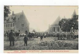 Ghistel  Binnenkoer V H Prioraat. Algemeen Zicht Op De Kerk En Het Klooster 1912 - Gistel