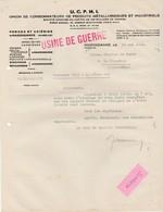 """Mai 1940 / UCPMI """"Usine De Guerre"""" / Métallurgie / Forge Acierie / 57 Hagondange Moselle - 1939-45"""