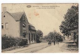 HECHTEL. - Handelshuis Verlinden-Wuyts En Steenweg Naar Leopoldsburg 1924 - Hechtel-Eksel
