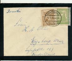 STARGARD - 1926 , Trauerbrief Nach Eystrup / DR - Covers & Documents