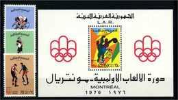 LIBYEN 1976 Nr 531-533 Postfrisch (112556) - Olympische Spiele
