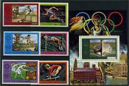 KOMOREN 1976 Nr 275-280 Postfrisch (112559) - Olympische Spiele
