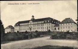 Cp Chateau Salins Moselle, Landwirtschaftliche Realschule - France