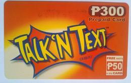Talk N Text 300 Pesos Plus 50 Pesos - Philippines