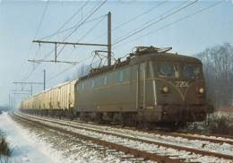 SNCB - Deurne - Locomotive électrique BB Série 22 - Trains