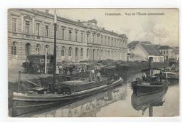 Grammont  Vue De L'Ecole Communnale  1914 - Geraardsbergen