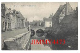 CPA POSTKAART - Le Quai Des Ménétriers - BRUGES Flandre Occidentale - Phot. H. Bertels R Rogier N°26 - Scans Recto-Verso - Brugge