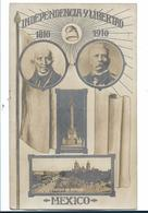 Mex193 / Mexiko, , Jubiläumskarte. 100 Jahre Republik 1910 - Mexiko