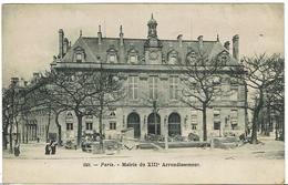 CPA - 75 - PARIS - Mairie Du XIIIème Arrondissement - Précurseur - - Arrondissement: 13