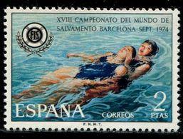 BS0392 Spain 1974 First Aid Drowning 1V MNH - 1873-74 Regentschaft