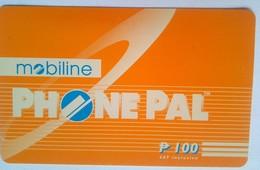 Mobiline Phonepal 100 Pesos  (thick) - Philippines