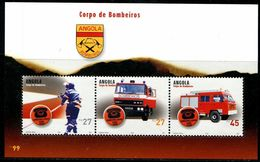 BS0396 Angola 2004 Fire Engine S/S MNH - Angola