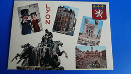 LYON - Guignol Et Gnafron - Vieux Lyon - Fourvière Et Place Des Terreaux - Lyon