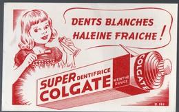 Buvard COLGATE Dentifrice  (PPP17623) - Vloeipapier
