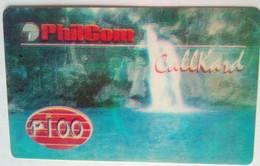 Philcom 100 Pesos Waterfalls - Philippines