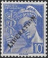 FRANCE LIBERATION ..St NAZAIRE 10c** Mre ..Signé P MAYER - Libération