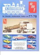 KAT321 Modellbauprospekt AMT 1977/78, Deutsch, Neu - Littérature & DVD