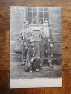 Chapelle Bascoup 1904 Types De Houilleurs / Charbonnages - Chapelle-lez-Herlaimont