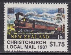 LOCAL Locomotives Trains Railway MNH** - Eisenbahnen